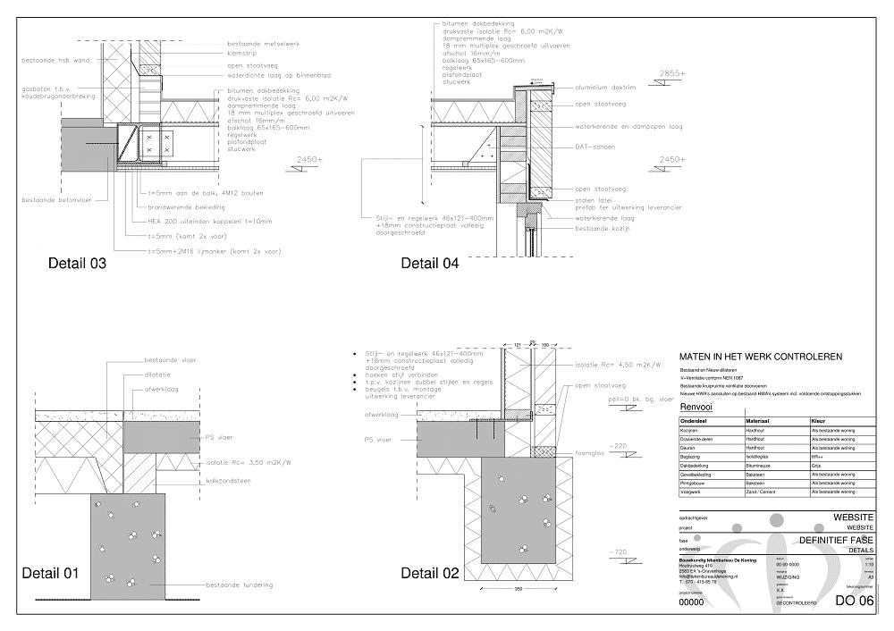 Bouw- en constructietekeningen laten maken voor aanbouw